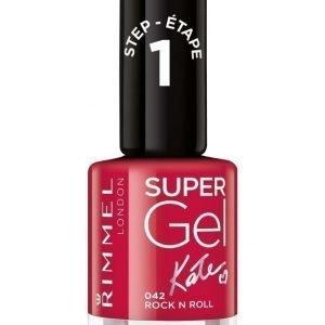 Rimmel Super Gel Kynsilakka Rock N Roll By Kate