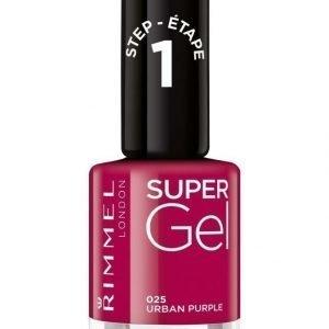 Rimmel Super Gel Kynsilakka Urban Purple