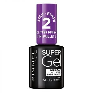 Rimmel Super Gel Top Coat Glitter Finish