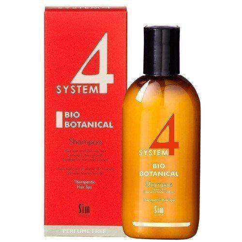 SIM Sensitive System 4 Bio Botanical Shampoo 215 ml