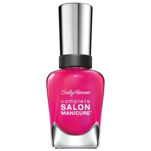 Sally Hansen Complete Salon Manicure 3.0 Keratin Strong Nail Varnish Back To The Fuchsia 14.7 Ml