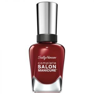 Sally Hansen Complete Salon Manicure 3.0 Keratin Strong Nail Varnish Red Zin 14.7 Ml