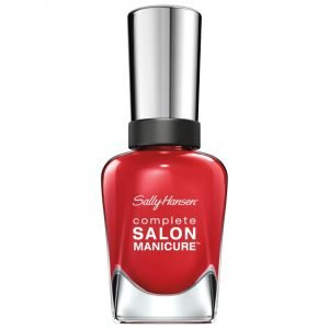 Sally Hansen Complete Salon Manicure 3.0 Keratin Strong Nail Varnish Right Said Red 14.7 Ml
