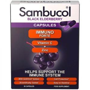 Sambucol Immuno Forte Capsules 30 Capsules