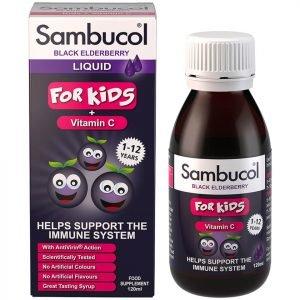 Sambucol Kids Formula Flavour Free 120 Ml