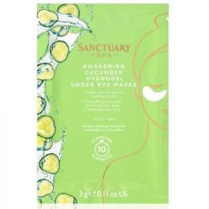 Sanctuary Spa Awakening Cucumber Hydrogel Under Eye Masks
