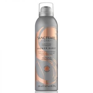 Sanctuary Spa Charcoal Detox Shower Burst 200 Ml