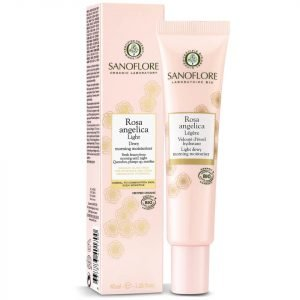 Sanoflore Rosa Angelica Light Dewy Morning Moisturiser 40 Ml