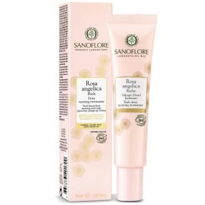 Sanoflore Rosa Angelica Rich Dewy Morning Moisturiser 40 Ml
