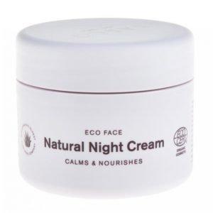Sasco Eco Face Natural Night Cream Yövoide