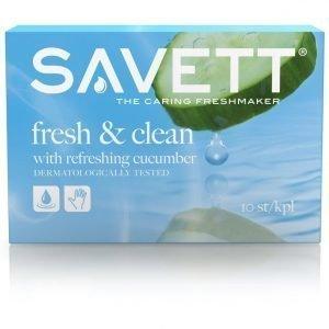 Savett Fresh Kosteuspyyhe 10 Kpl