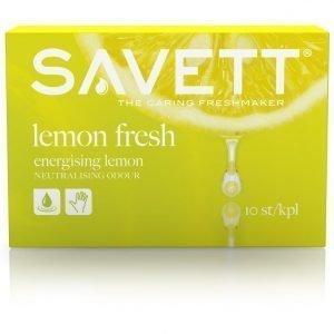 Savett Lemon Kosteuspyyhe 10 Kpl
