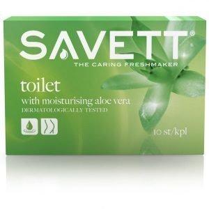 Savett Toilet Kosteuspyyhe 10 Kpl