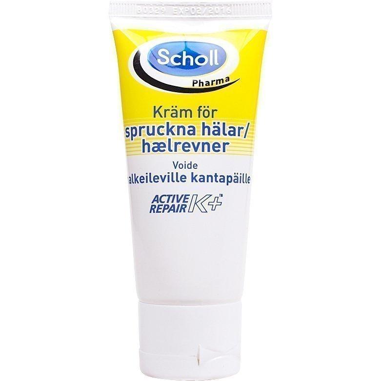 Scholl Active Repair Foot Cream For Cracked Heels 60ml