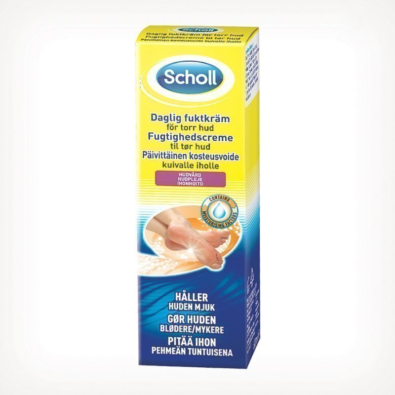 Scholl Daily Moisture Cream For Dry Skin 75ml