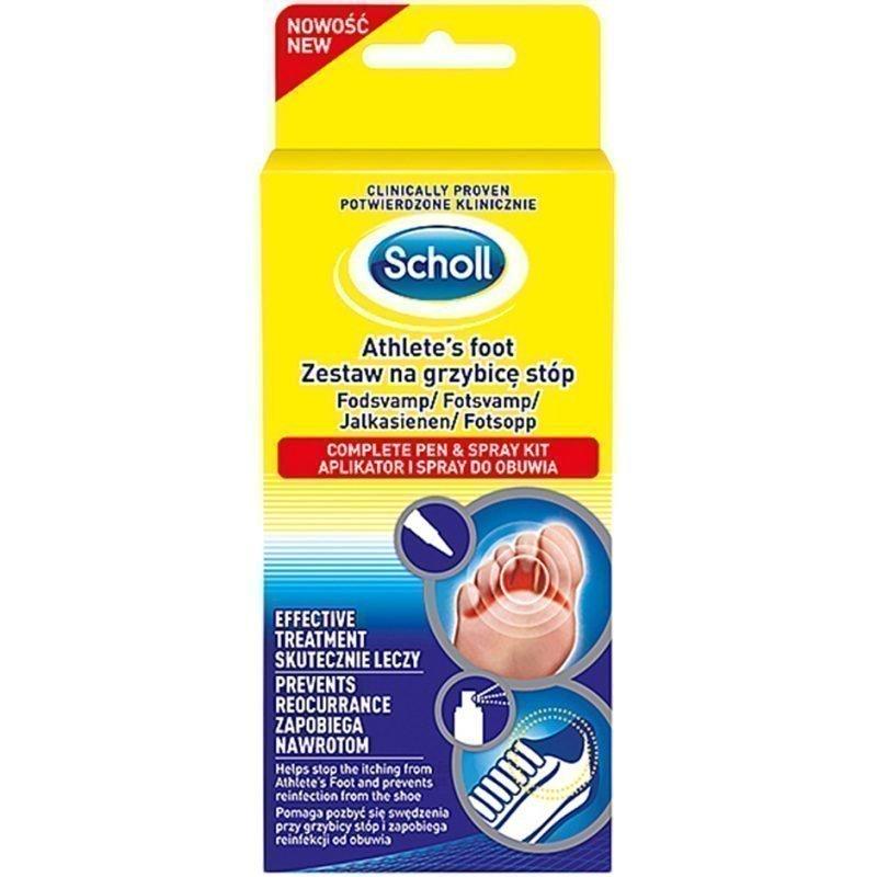 Scholl Fungal Treatment 2 in 1 4ml Treatment Pen 10ml Shoe Spray