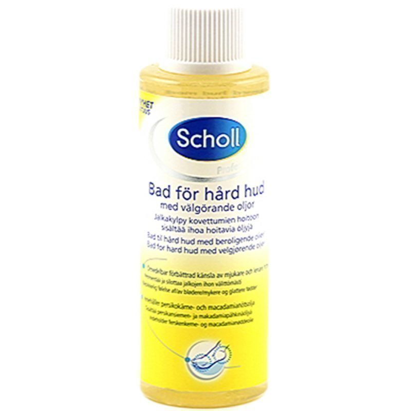 Scholl Pharma Footbath For Hard Skin With Moisturizing Oils
