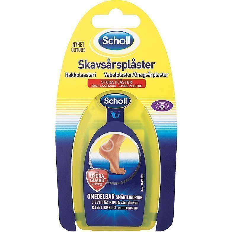 Scholl Plasters Large 5 Pieces