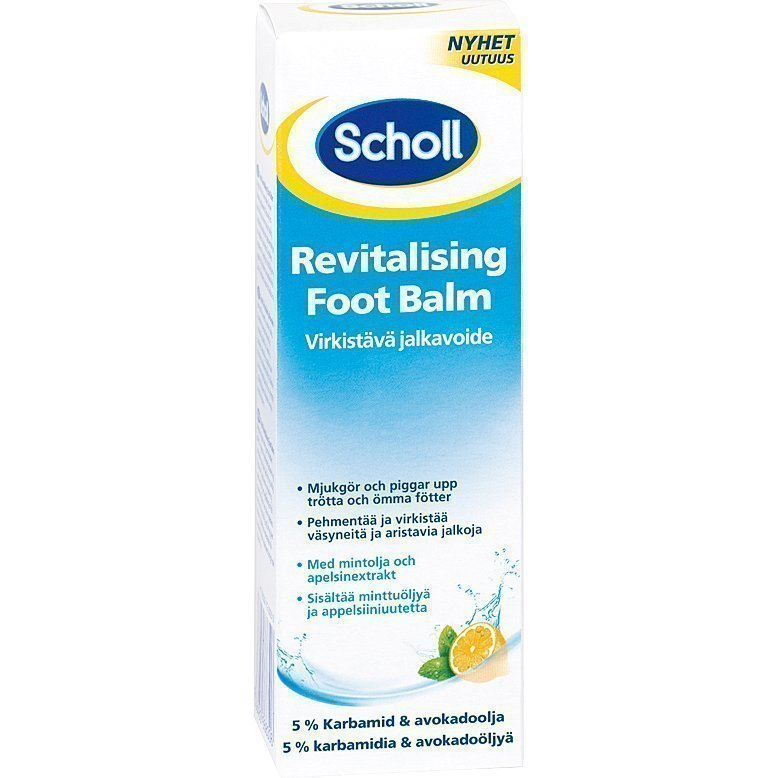 Scholl Revitalising Foot Balm With Mint & Orangeoil 75ml