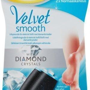 Scholl Velvet Smooth Diamond Täyttöpakkaus 2 Kpl