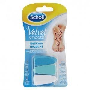 Scholl Velvet Smooth Vaihtoviila 3 Kpl