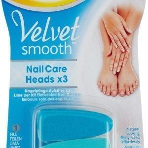 Scholl Velvet Smooth Vaihtoviila Kynsienhoitolaitteeseen 3 Kpl