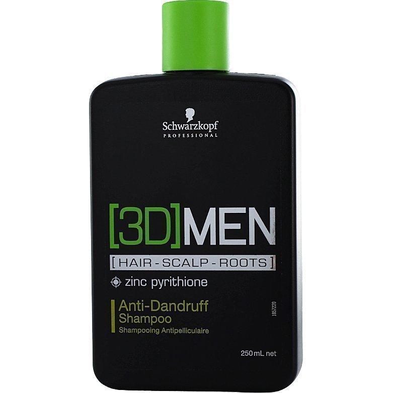 Schwarzkopf (3D)MenDandruff Shampoo 250ml