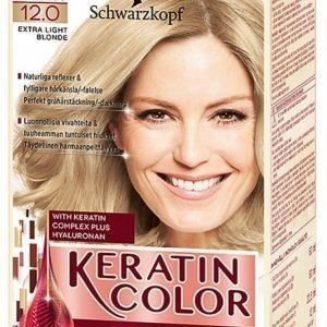 Schwarzkopf Anti Age Keratin 12.0 Extra Light Blonde Hiusväri