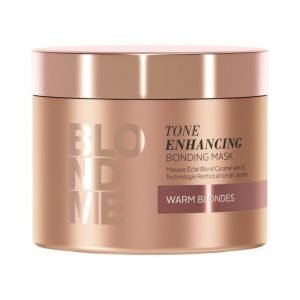 Schwarzkopf Blond Me Blondme Bm Tone Enhancing Bonding Mask Warm Blondes Tehohoito 200 ml