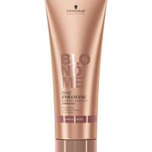 Schwarzkopf Blond Me Blondme Bm Tone Enhancing Bonding Warm Blondes Shampoo 250 ml