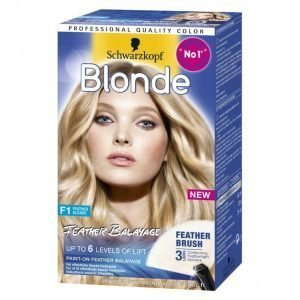 Schwarzkopf Blonde F1 Feather Balayage Hiusväri