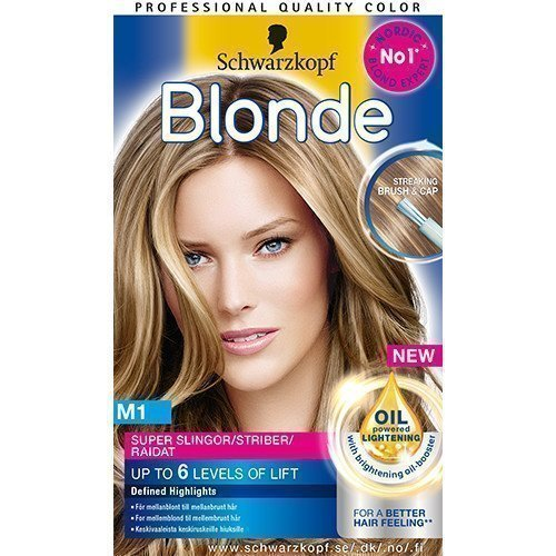 Schwarzkopf Blonde Highlights M1