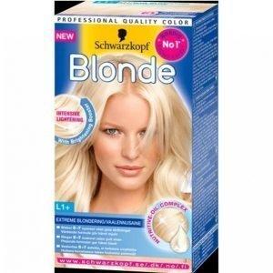 Schwarzkopf Blonde L1 + Extreme Light Hiusväri