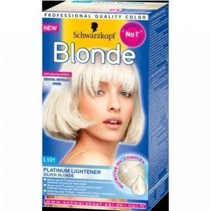 Schwarzkopf Blonde L101 Silver Blonde Hiusväri