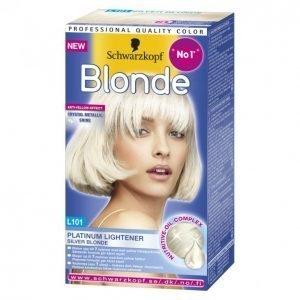 Schwarzkopf Blonde L101 Silver Vaalennusaine