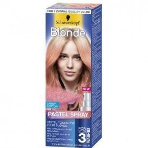 Schwarzkopf Blonde Pastel Spray Candy Cotton Vaalennussuihke
