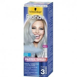 Schwarzkopf Blonde Pastel Spray Cool Blue Vaalennussuihke