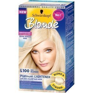 Schwarzkopf Blonde Platinum Lightener L100 Ice Blonde