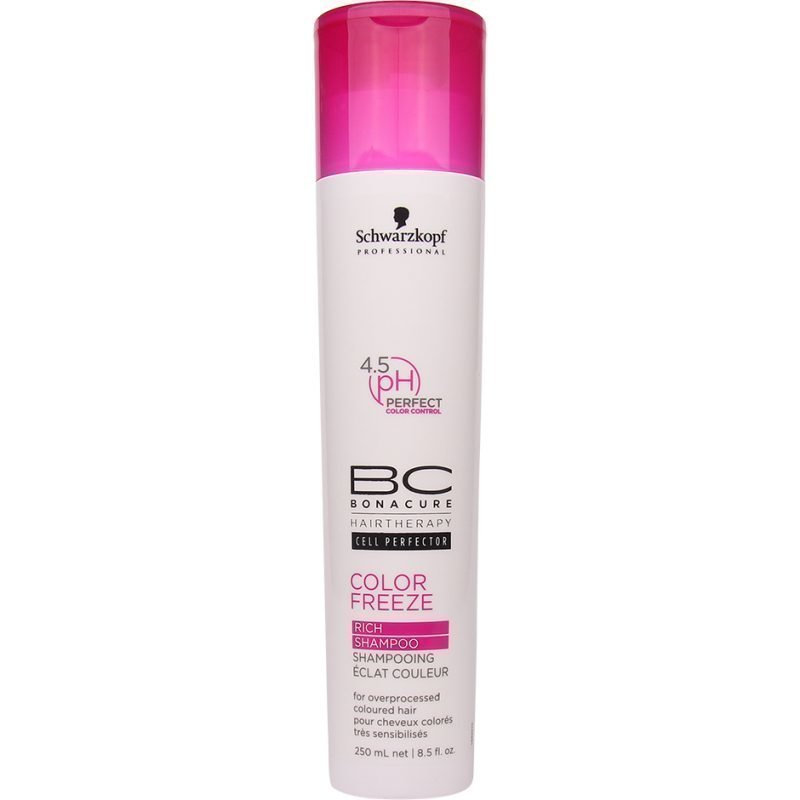 Schwarzkopf Bonacure Color Freeze Rich Shampoo 250ml