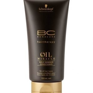 Schwarzkopf Bonacure Oil Miracle Gold Shimmer Conditioner Hoitoaine 150 ml