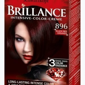 Schwarzkopf Brillance 896 Black Red Hiusväri