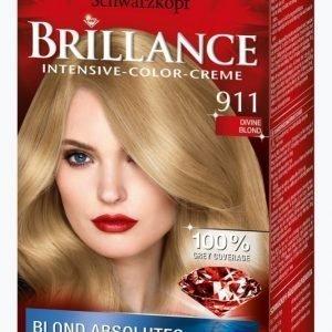 Schwarzkopf Brillance 911 Divine Blonde Hiusväri