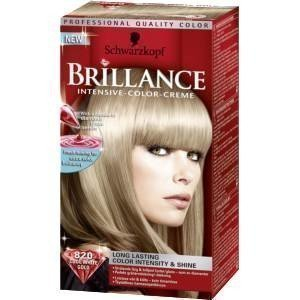 Schwarzkopf Brillance Intensive Color-Creme 820 Cool White Gold