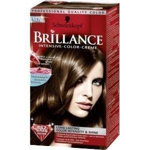 Schwarzkopf Brillance Intensive Color-Creme 862 Natural Brown