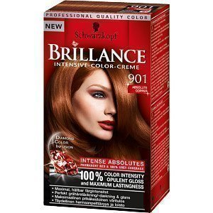 Schwarzkopf Brillance Intensive Color-Creme 901 Absolute Copper