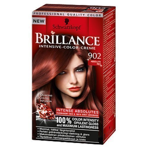 Schwarzkopf Brillance Intensive Color-Creme 902 Absolute Red