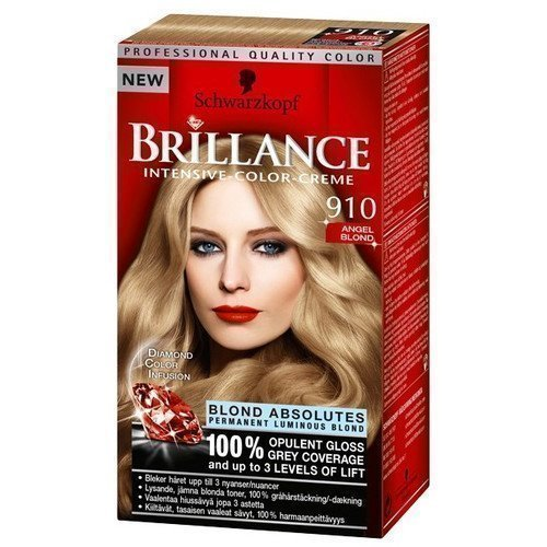 Schwarzkopf Brillance Intensive Color-Creme 910 Angel Blond