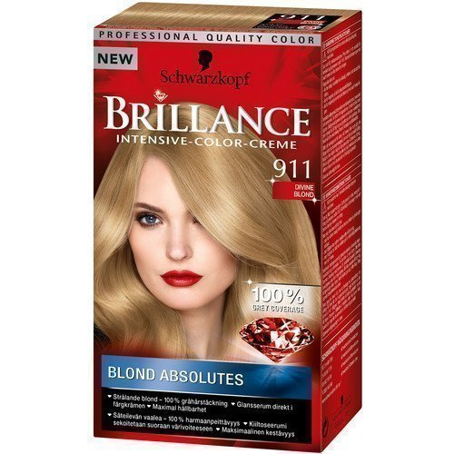 Schwarzkopf Brillance Intensive Color-Creme 911 Divine Blond