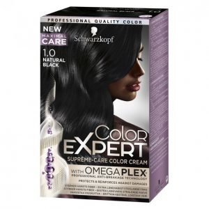 Schwarzkopf Color Expert 1.0 Natural Black Hiusväri
