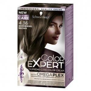 Schwarzkopf Color Expert 4.36 Shimmering Brown Hiusväri